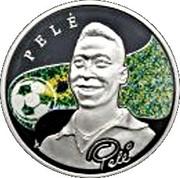 100 Dram (Pelé) -  reverse