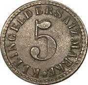 5 Pfennig - Arnsberg – reverse