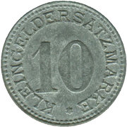10 Pfennig - Arnsberg – reverse
