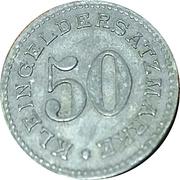 50 Pfennig - Arnsberg – reverse