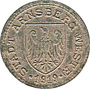 50 Pfennig - Arnsberg – obverse