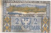 2 Mark (Sparkasse) – reverse