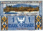 1 Mark (Sparkasse) – reverse