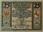 25 Pfennig (Handelskammer für das südöstliche Westfalen) – obverse