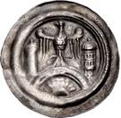 1 Brakteat - Walter II. (Hettstedt) – obverse