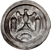1 Brakteat - Walter II. (Hettstedt) – reverse