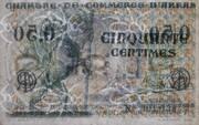 50 centimes - Chambres de Commerce d' Arras -  obverse