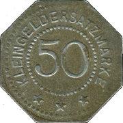 50 Pfennig - Artern – reverse