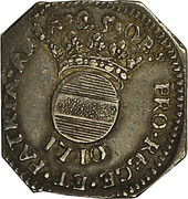 25 Sols (Siege of Aire) – obverse