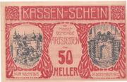 50 Heller (Artstetten) – obverse