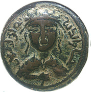 Dirham - Husam al-Din Yuluq Arslan (Artuqid of Mardin) – obverse