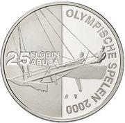 25 Florin - Beatrix (Olympics) -  reverse