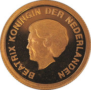 10 Florin - Beatrix (Queen Juliana) -  obverse