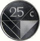 25 Cents - Beatrix / Willem-Alexander (magnetic) – reverse