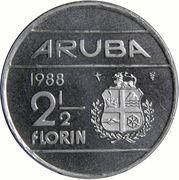 2½ Florin - Beatrix (magnetic) – reverse