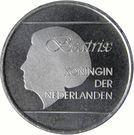 2½ Florin - Beatrix (magnetic) – obverse