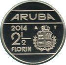 2½ Florin - Willem-Alexander (magnetic) – reverse