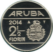 2½ Florin - Willem-Alexander (magnetic) -  reverse