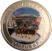 5 Florin - Willem-Alexander (Flag, Anthem, Status Aparte) -  reverse