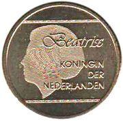 5 Florin - Beatrix (non-magnetic) – obverse