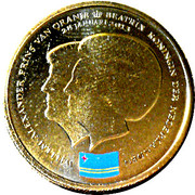 5 Florin - Beatrix (Abdication) – obverse