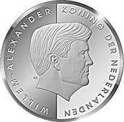 5 Florin - Willem-Alexander (Investiture) -  obverse