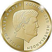 10 Florin - Willem-Alexander (Investiture) -  obverse