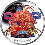 5 Florin - Willem-Alexander (Carnival) -  reverse