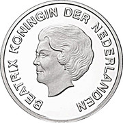 5 Florin - Beatrix (2012 Olympic Games) – obverse
