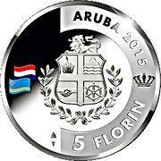 5 Florin - Willem-Alexander (200 years Kingdom of the Netherlands) -  obverse