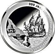 5 Florin - Willem-Alexander (200 years Kingdom of the Netherlands) -  reverse