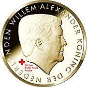 5 Florin - Willem-Alexander (60 Years Aruba Red Cross) -  obverse