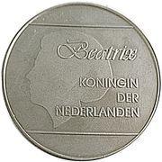 25 Florin - Beatrix (Olympics 1992) -  obverse