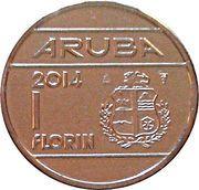 1 Florin - Willem-Alexander – reverse