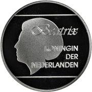 25 Florin - Beatrix (Olympics; without logo) -  obverse