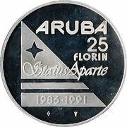 25 Florin - Beatrix (Status Aparte) -  reverse