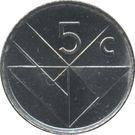 5 Cents - Beatrix / Willem-Alexander (magnetic) – reverse
