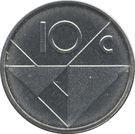 10 Cents - Beatrix / Willem-Alexander (magnetic) – reverse