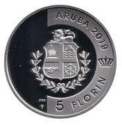 5 Florin - Willem-Alexander (Turtuga) – obverse