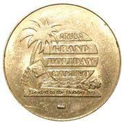 25 Cents - Aruba Grand Holiday Casino – obverse