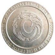 1 Dollar Gaming Token - Crystal Casino (Sonesta, Aruba) – reverse