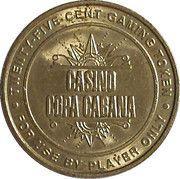 25 Cent Gaming Token - Casino Copa Cabana (Hyatt Regency Aruba) – obverse