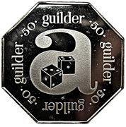 50 Guilder - Arusino Casino (Aruba Caribbean Hotel) – reverse