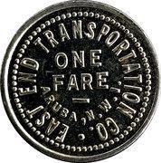 1 Fare - East End Transportation Co. (Aruba, N.W.I.) – obverse