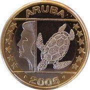 1 Euro - Beatrix – obverse