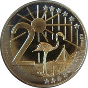 2 Euro - Beatrix – reverse