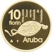 10 Florin - Beatrix (Autonomy) – reverse