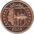 1 Cent - Beatrix – obverse
