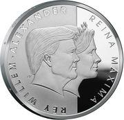 5 Florin - Willem-Alexander (Royal visit) – obverse