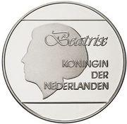 25 Florin - Beatrix (Olympics; with logo) – obverse